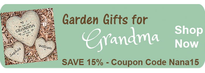 Save 15% on Garden Gifts for Grandmas from The BananaNana Shoppe