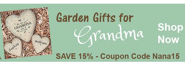 Save 15% on Garden Gifts for Grandmas from The BananaNana Shoppe
