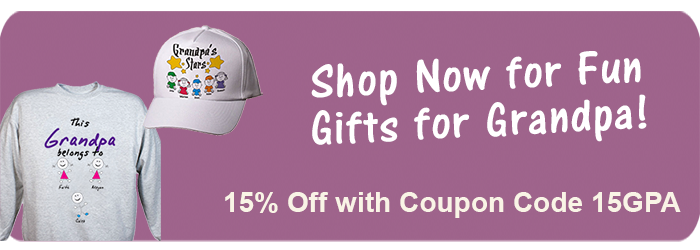 Save 15% on Gifts for Grandpa from The BananaNana Shoppe